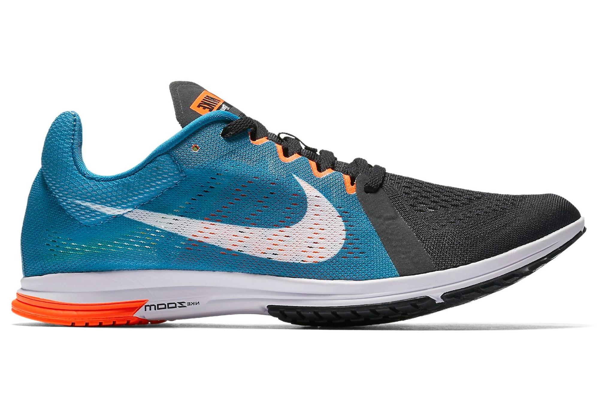 on sale 0a85d 1fd9f Nike Zoom Streak LT 3 Black Blue Orange Unisex