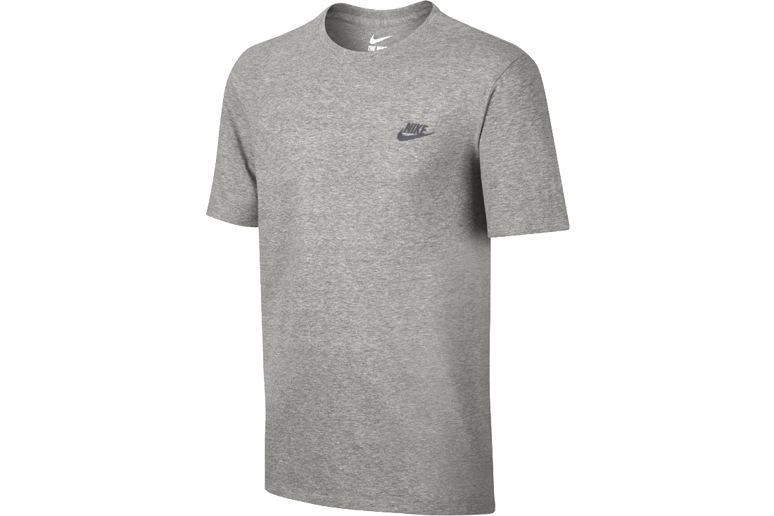 Homme Nike 063 Club Futura T Shirt Gris Embroidery 827021 exQdCEoWrB