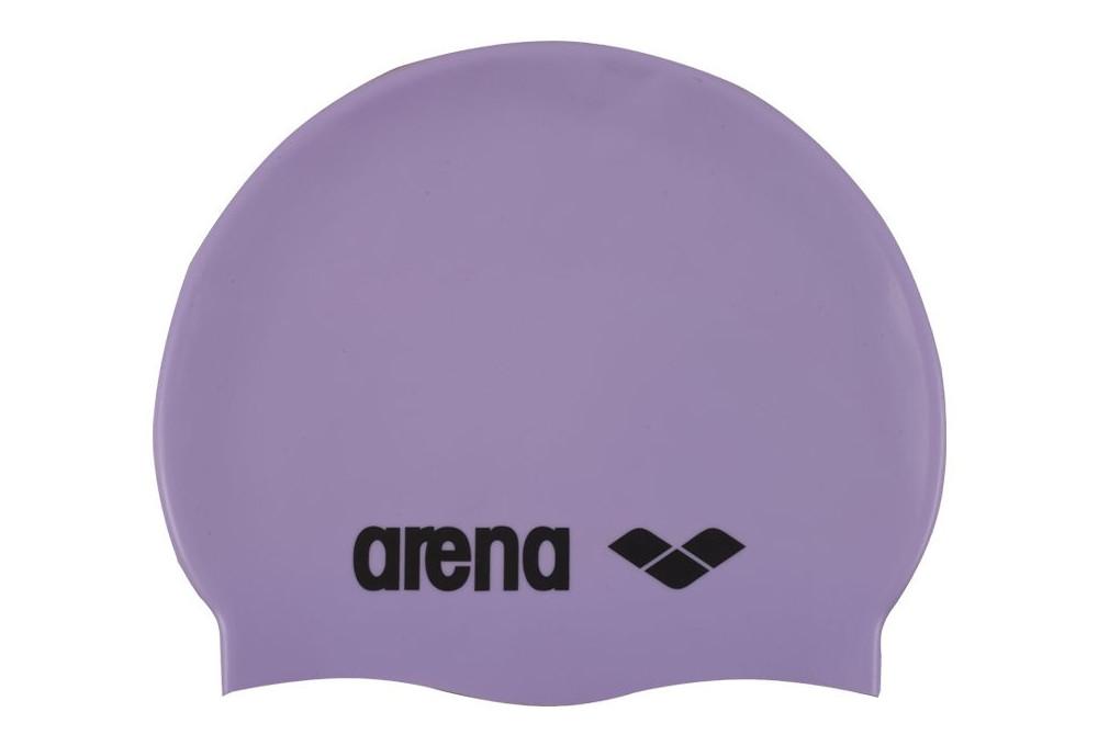 bonnet de bain arena classic silicon violet. Black Bedroom Furniture Sets. Home Design Ideas