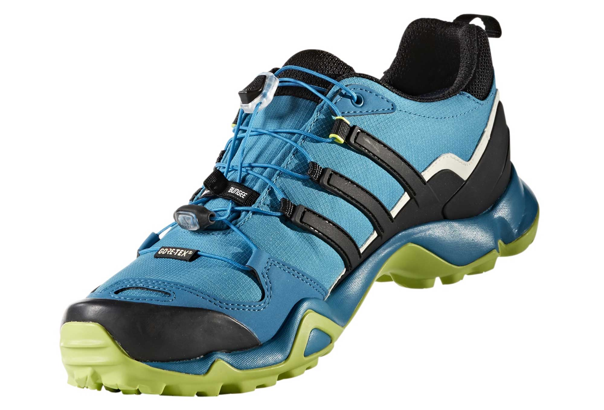 ca6b75689c9e1 adidas running Terrex Swift R GTX Blue Yellow Men
