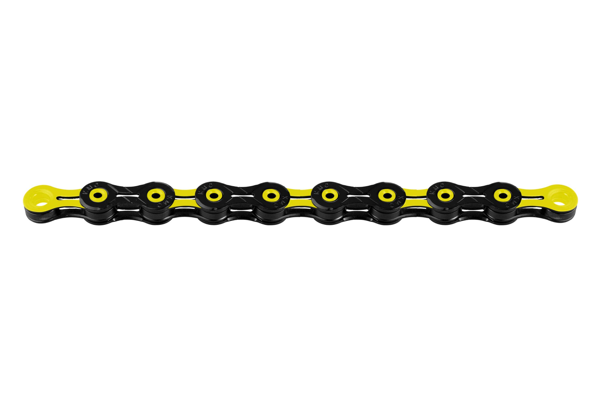 quality design 8d580 8d847 KMC DLC11 Chain 116 Links 11s Black Yellow