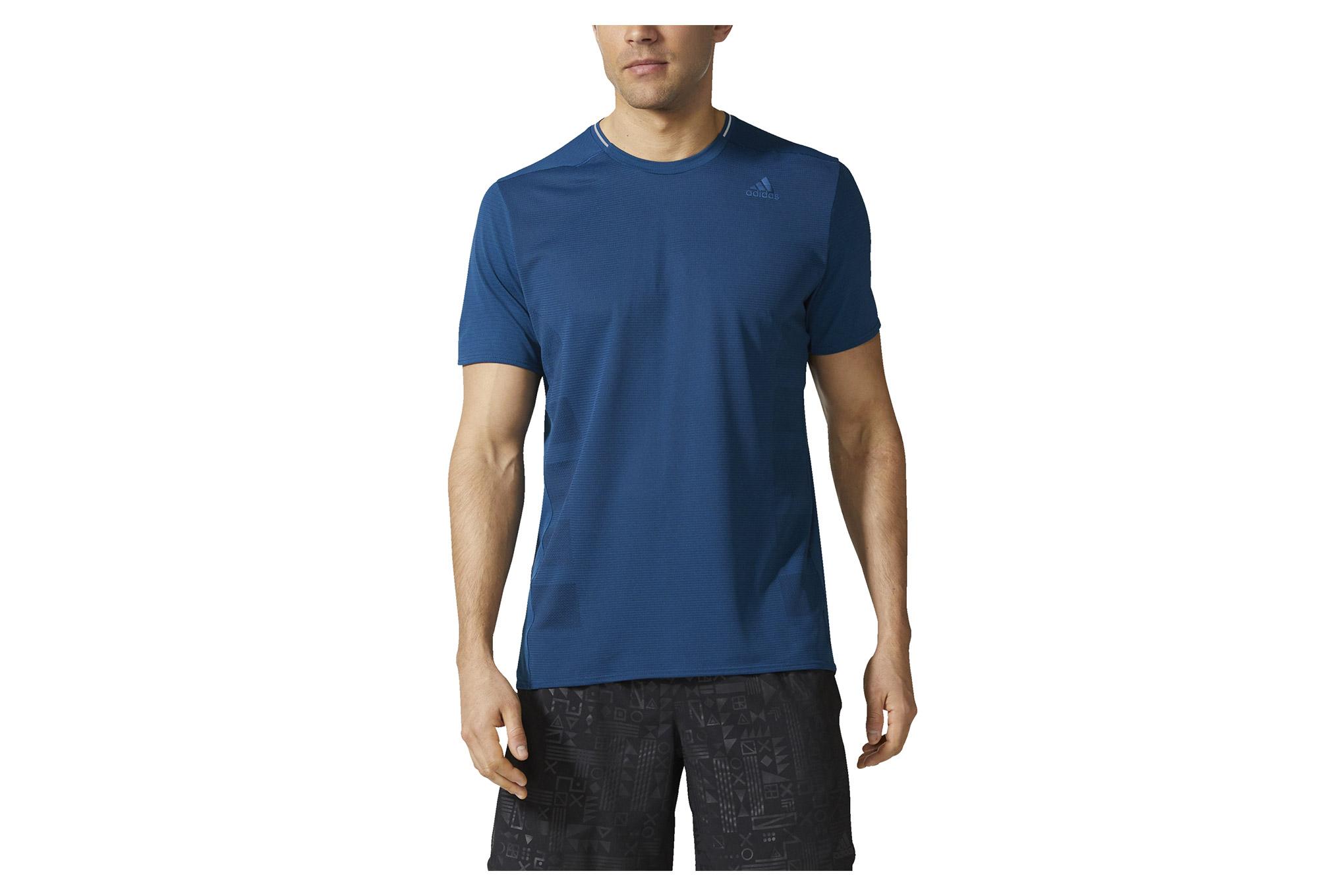 d5d64ccd1 adidas running Supernova Short Sleeves Jersey Blue Night