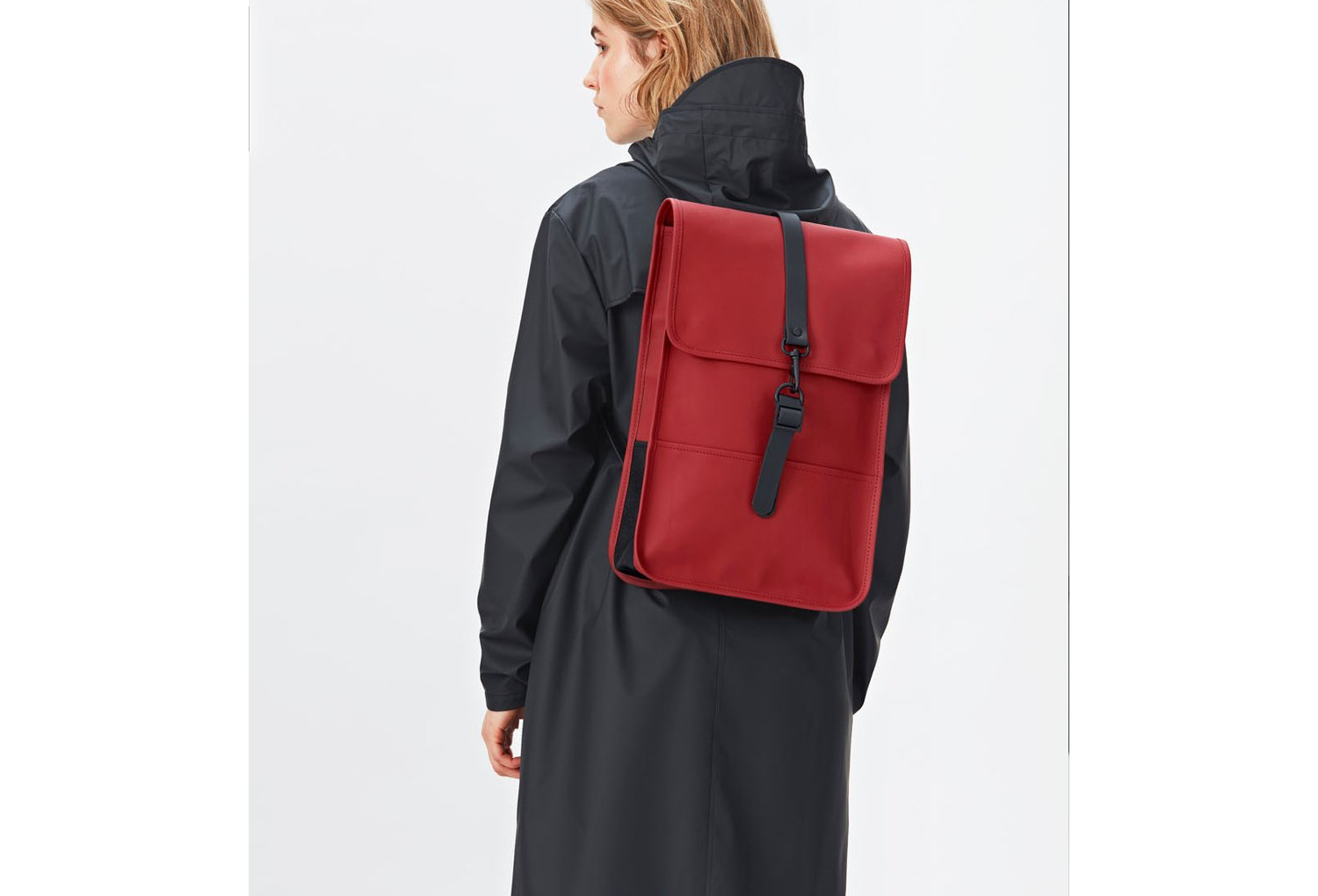 sac dos imperm able rains backpack mini scarlett rouge. Black Bedroom Furniture Sets. Home Design Ideas