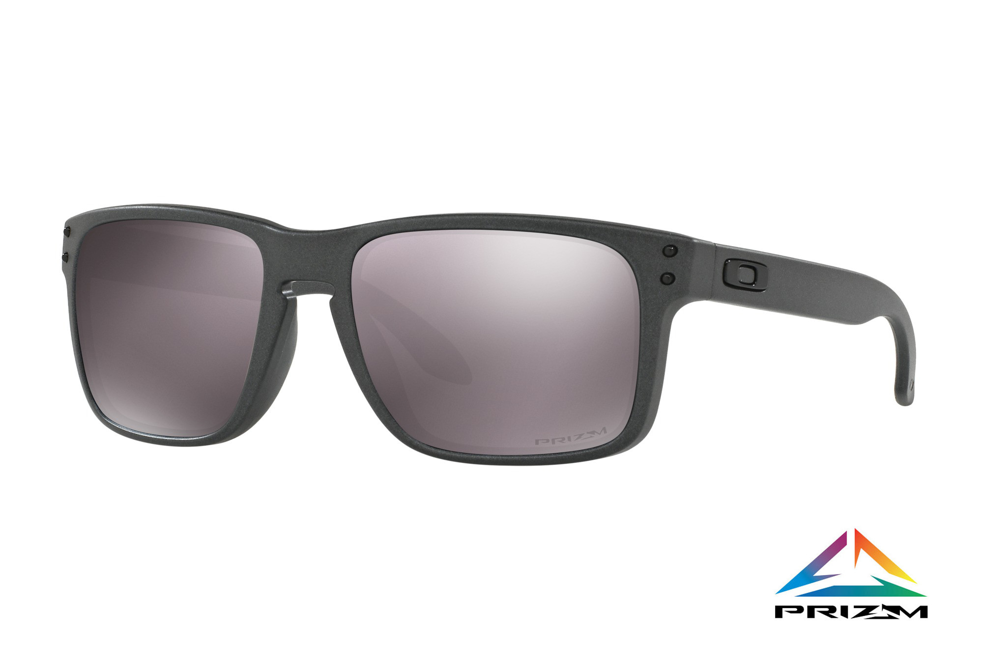 362cc214f8 OAKLEY Sunglasses HOLBROOK Steel   Prizm Daily Polarized Ref OO9102 ...