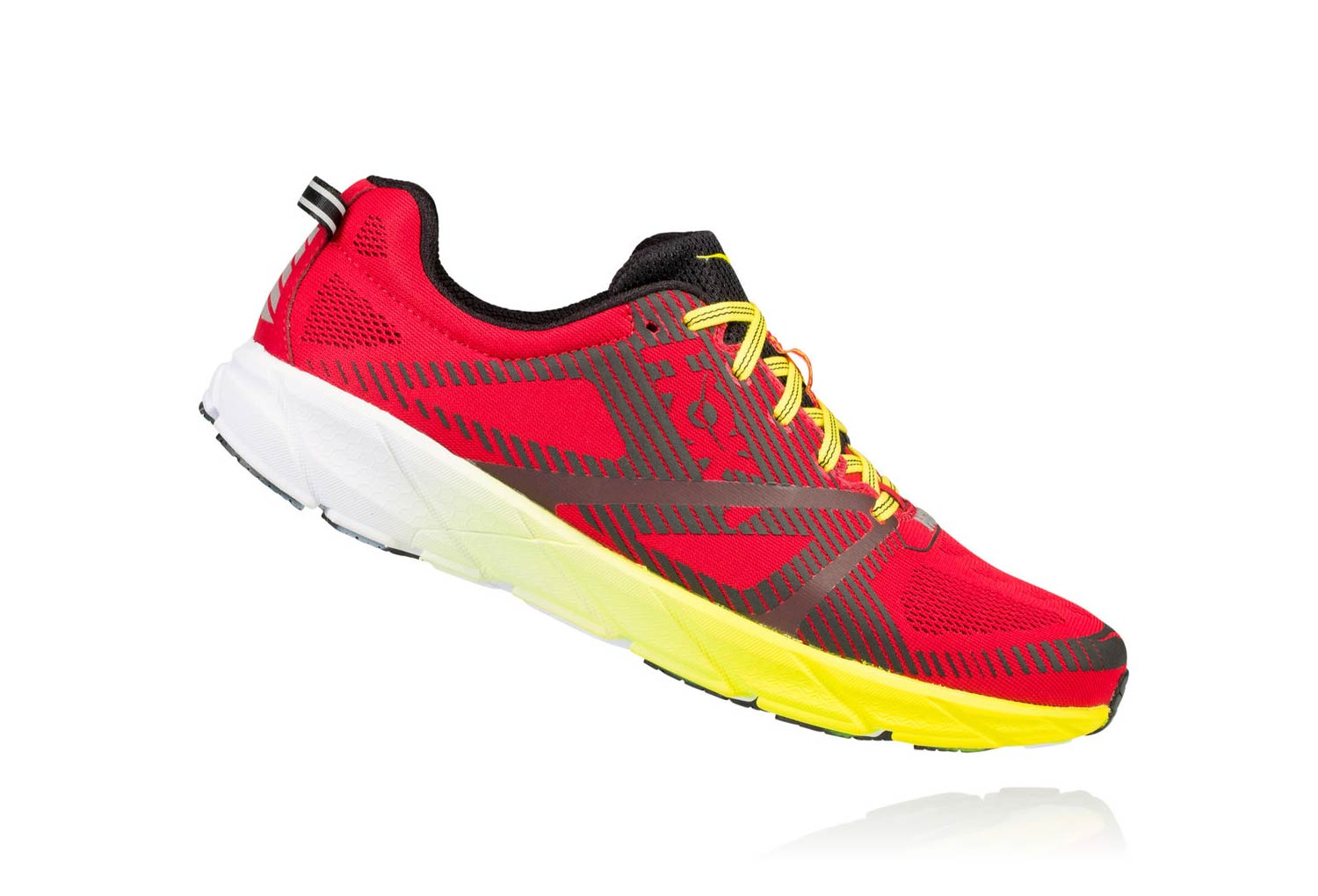 Hoka Tracer 2 Red Yellow Black