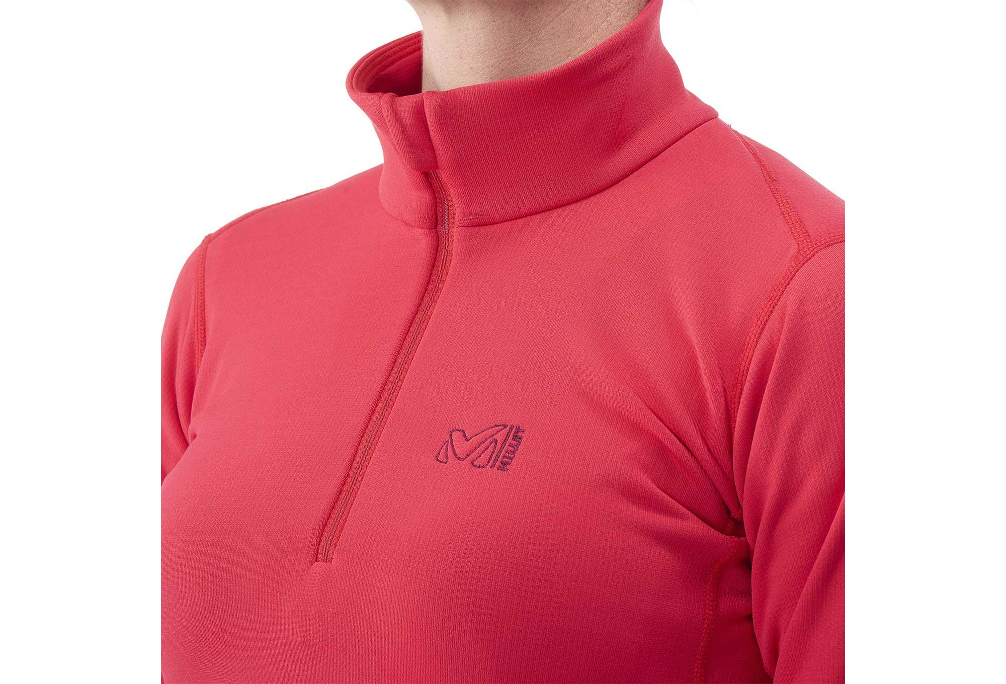 pretty nice 034aa 566db Millet LD Tech Strech Women Fleece Pink
