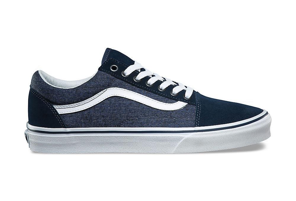 chaussures vans old skool bleu. Black Bedroom Furniture Sets. Home Design Ideas