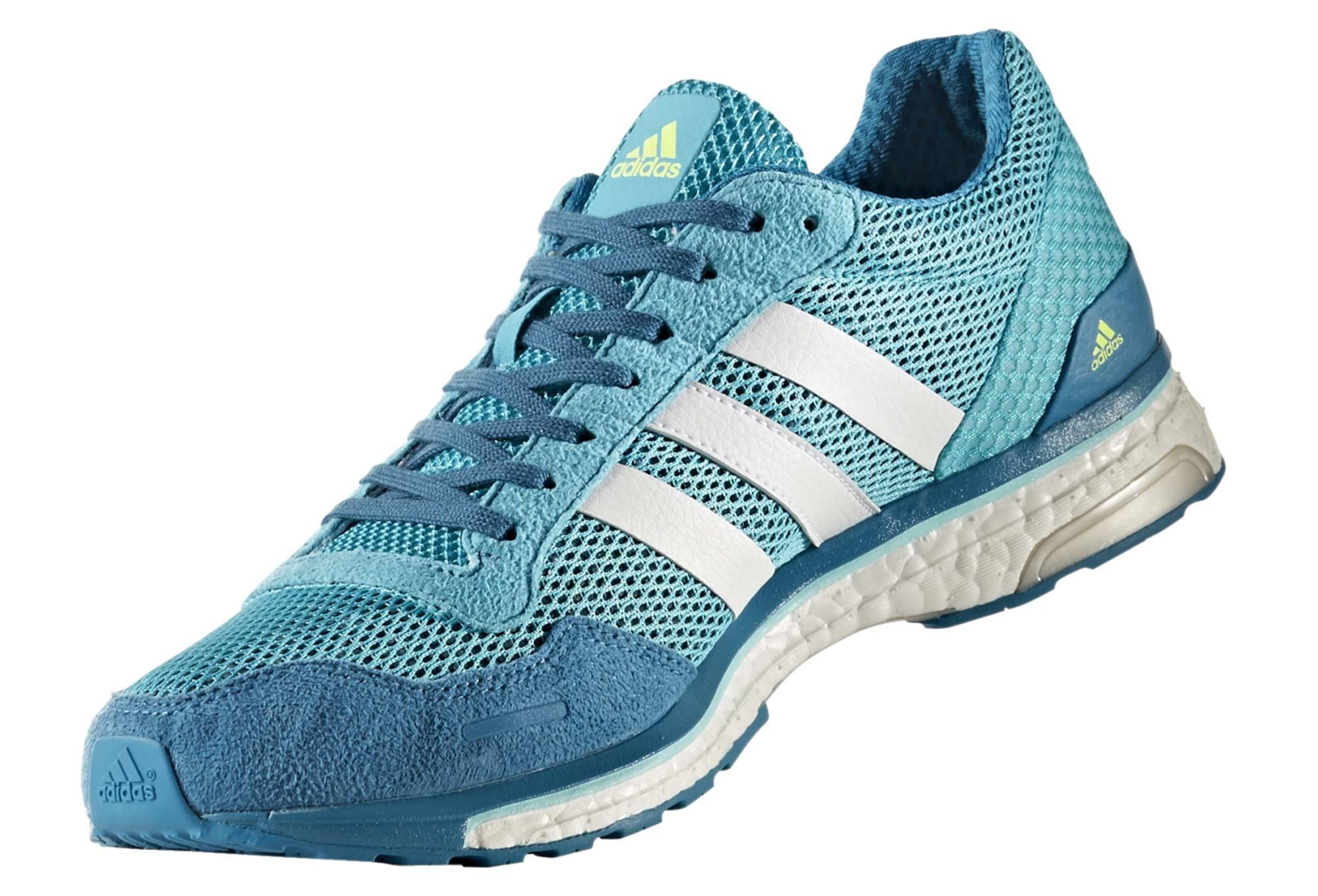 072320a947cf10 adidas running Adizero Adios 3 Teal Blue Men