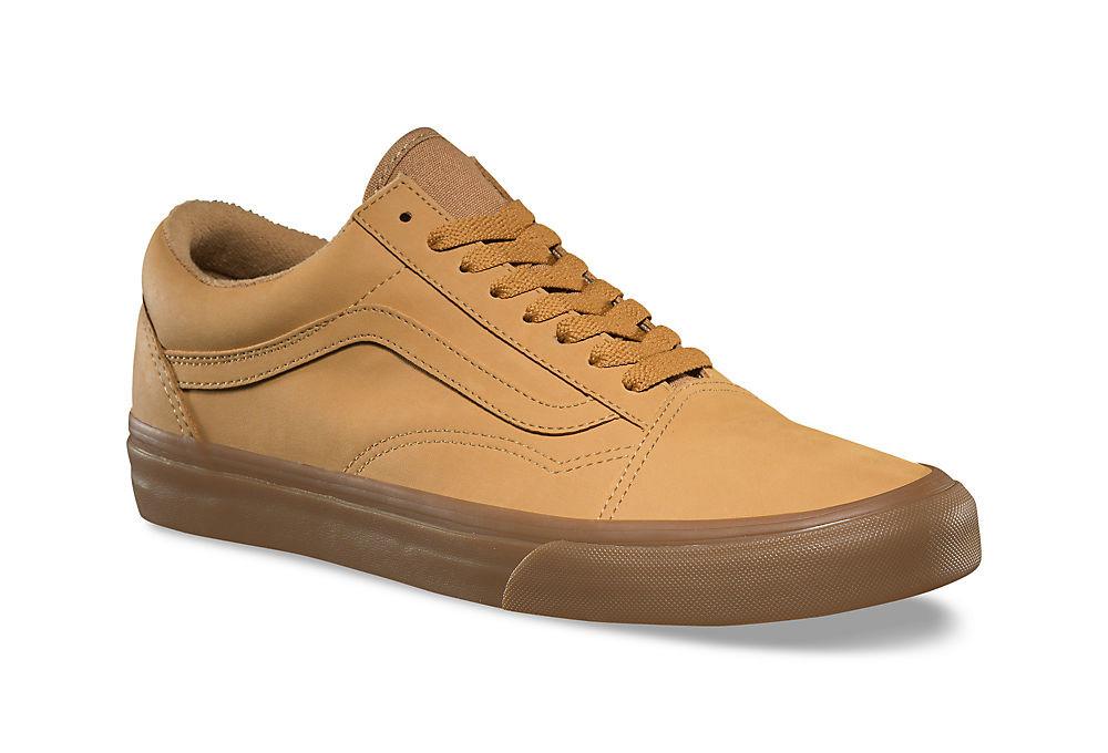 chaussures vans vansbuck old skool marron. Black Bedroom Furniture Sets. Home Design Ideas