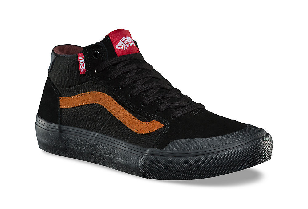 Chaussures Vans Style 112 Mid Pro Dakota Roche Noir