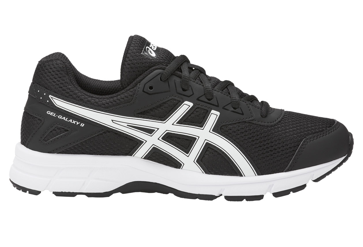 wholesale dealer 9243e 3a715 Chaussures Enfant Asics Gel-Galaxy 9 GS Noir   Blanc