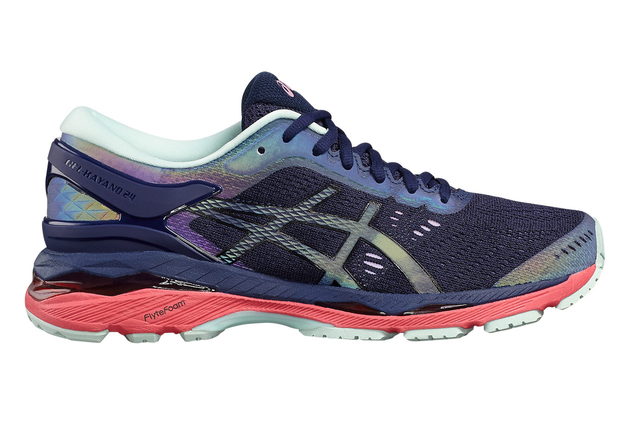 Asics Gel-Kayano 24 Lite Show Blue Black Women  76fa229e51
