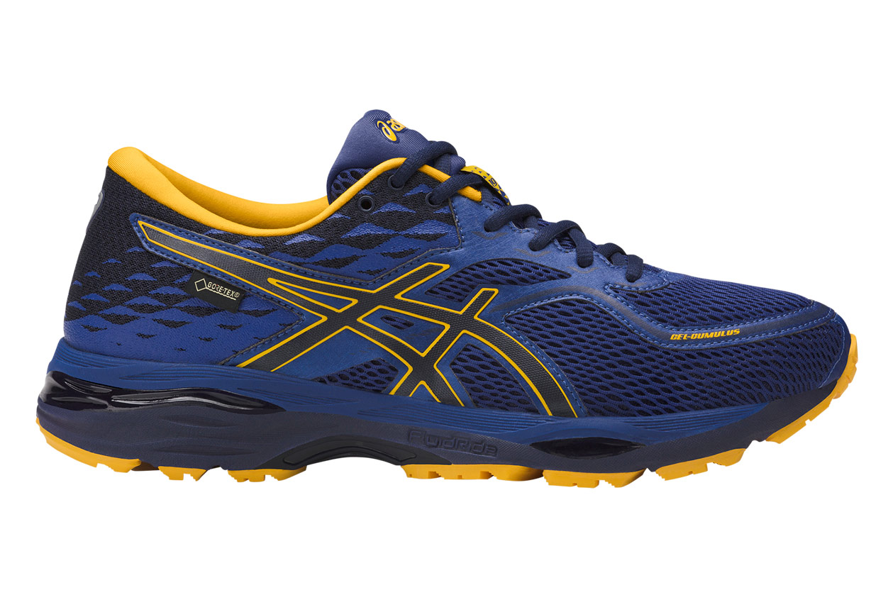 Asics Gel-Cumulus 19 GTX Blue Gold