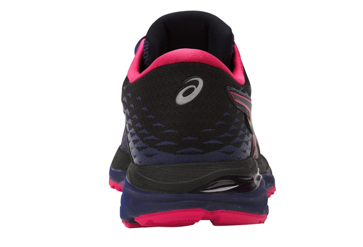 Chaussures de Running Femme Asics Gel-Cumulus 19 GTX Noir   Bleu ... f1ec0c2a8e92