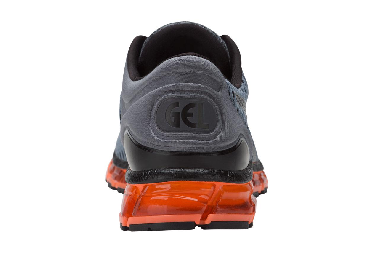 chaussures asics gel-quantum 360 shift gris orange
