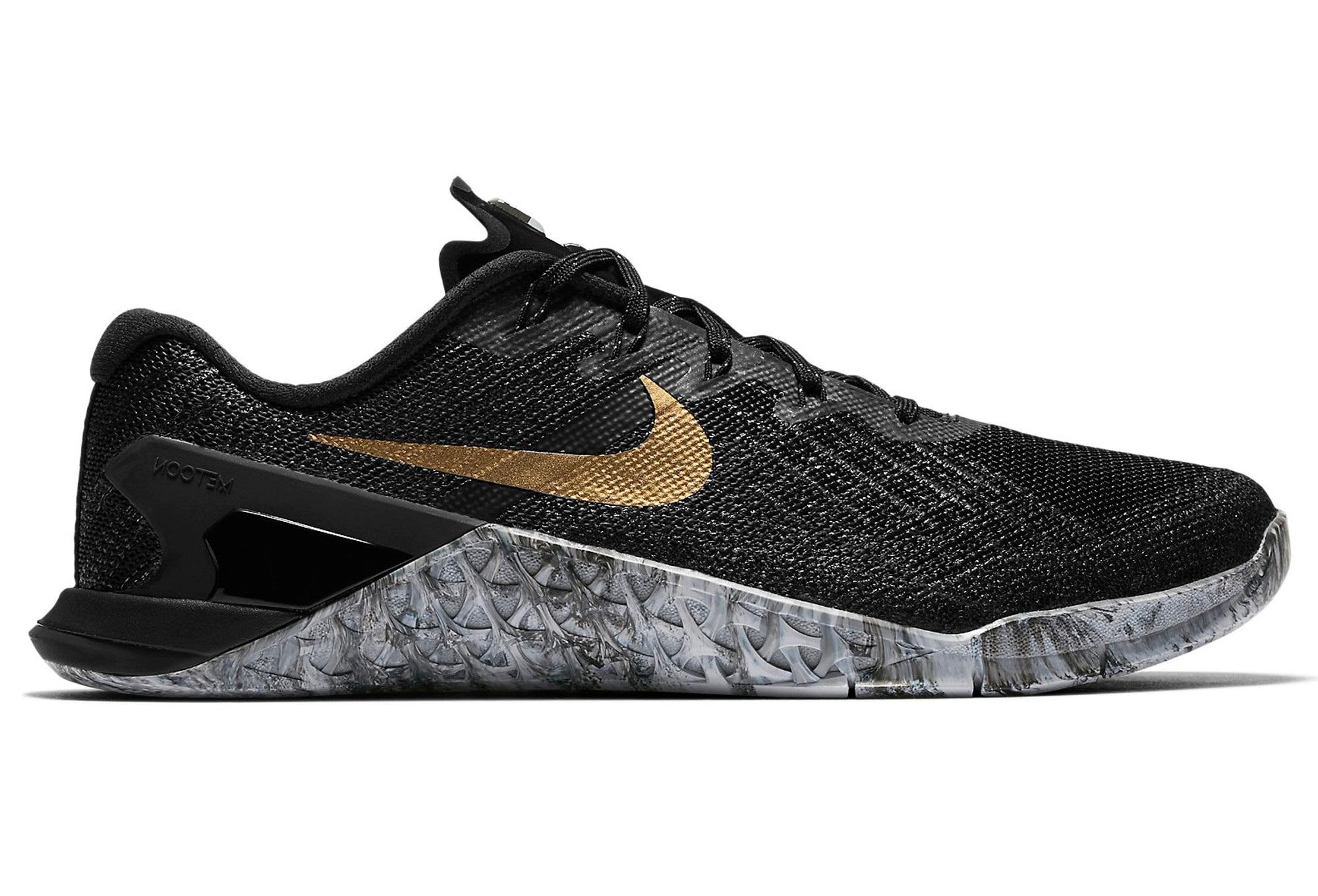 new style 8f2f7 1a851 Chaussures de Cross Training Femme Nike Metcon 3 AMP Noir  Gris