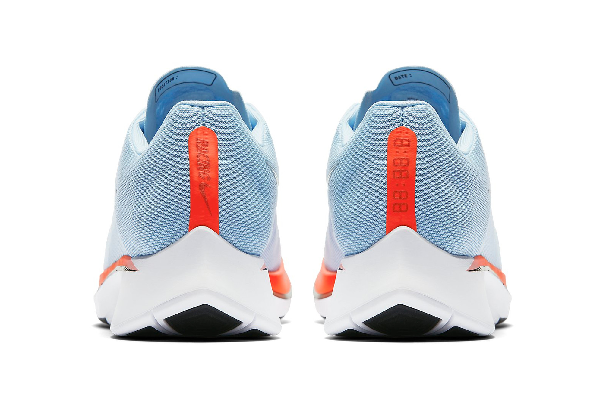 Nike Zoom Fly Bleu Orange Homme