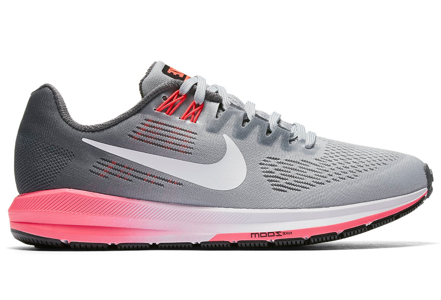 Chaussures de Running Femme Nike Air Zoom Structure 21 Gris ... 299832ed852