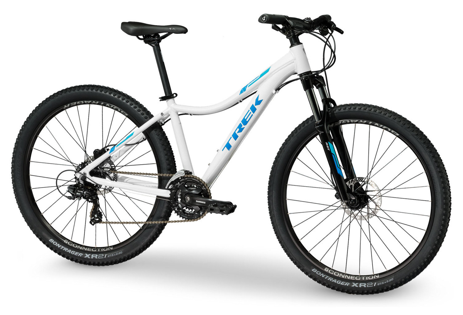 133d6be7889 Women MTB TREK 2018 Skye S WSD 27.5'' Shimano Tourney 7S White Blue ...