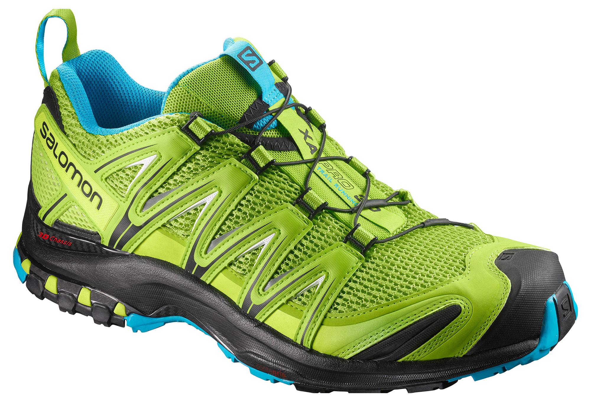 Bleu Pro Salomon 3d Vert Trail Chaussures Xa MqzVSUp