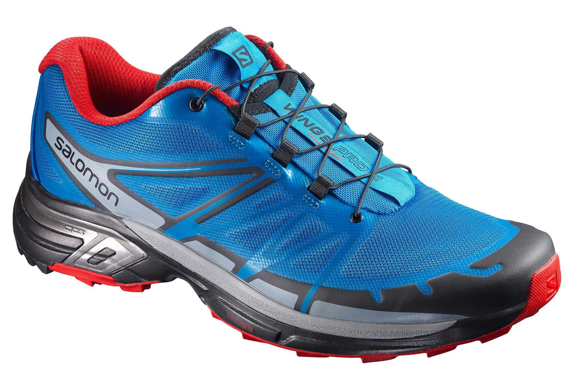 De Pro Bleu 2 Rouge Trail Wings Chaussures Salomon ZgIdq