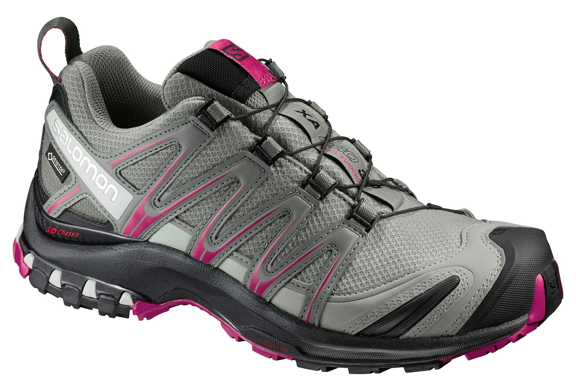 47070a73a27 Zapatillas Salomon XA PRO 3D GTX para Mujer Gris