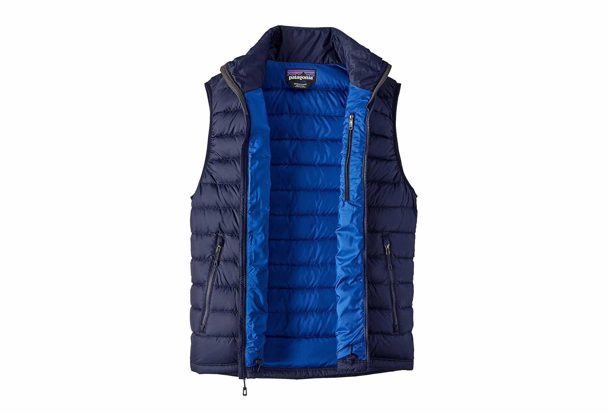 4c57096ab33 Doudoune sans Manches Patagonia Sweater Bleu Marine