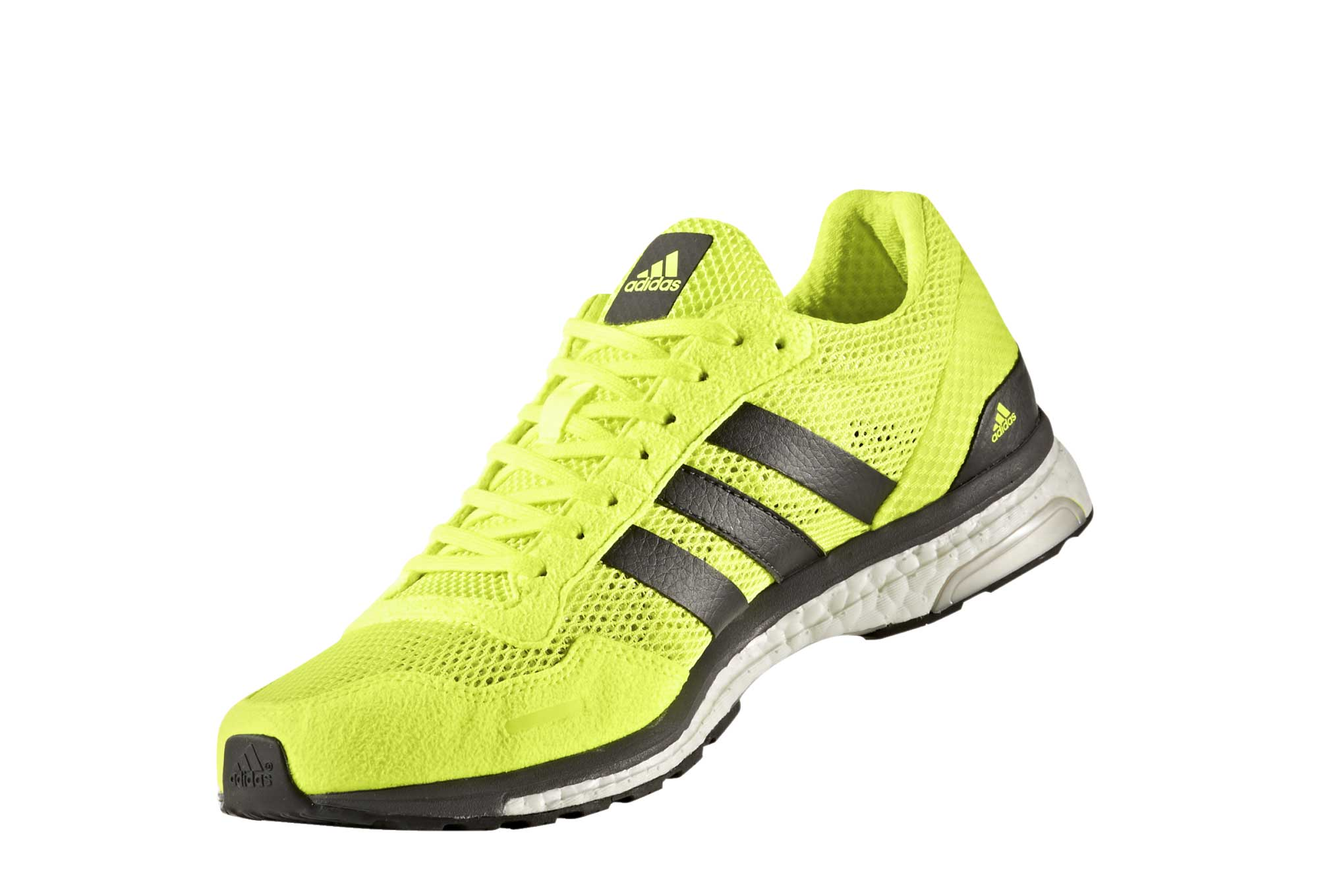 check out 2eeb9 c3443 adidas running Adizero Adios 3 Neon Yellow Black Men