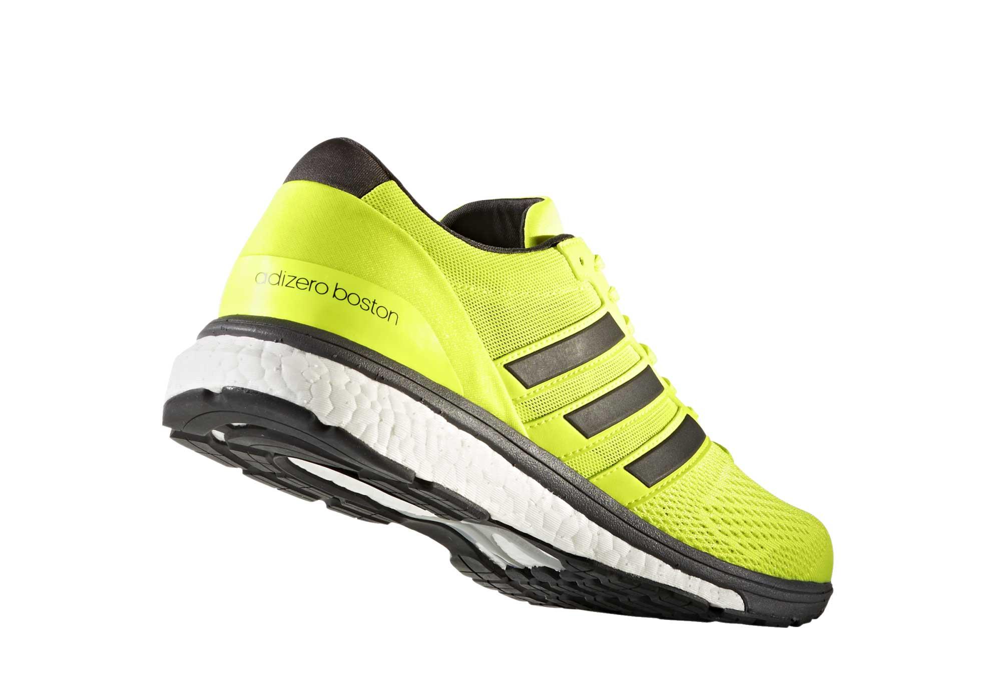 Running Adidas Jaune Boston De 6 Noir Adizero Chaussures FqUSSO