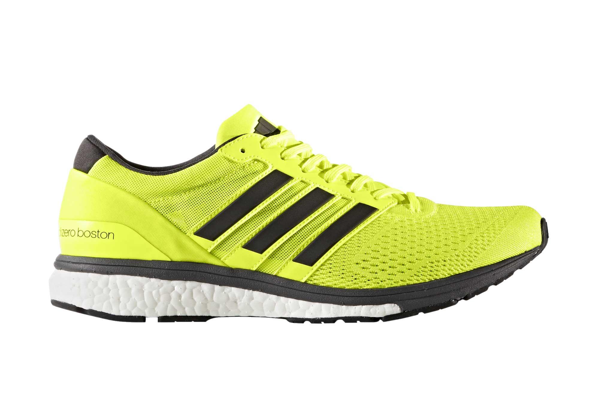 Fluo Running Boston Jaune Adidas Adizero Chaussures De 6 8gz8PW0