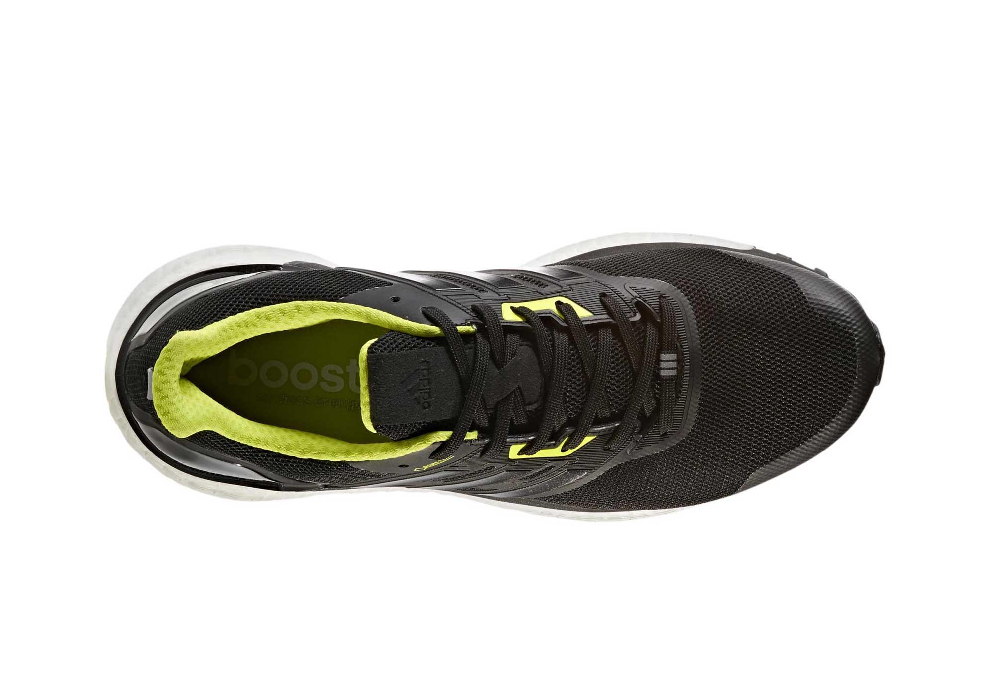 adidas running Supernova Gore Tex Black Neon Yellow Men