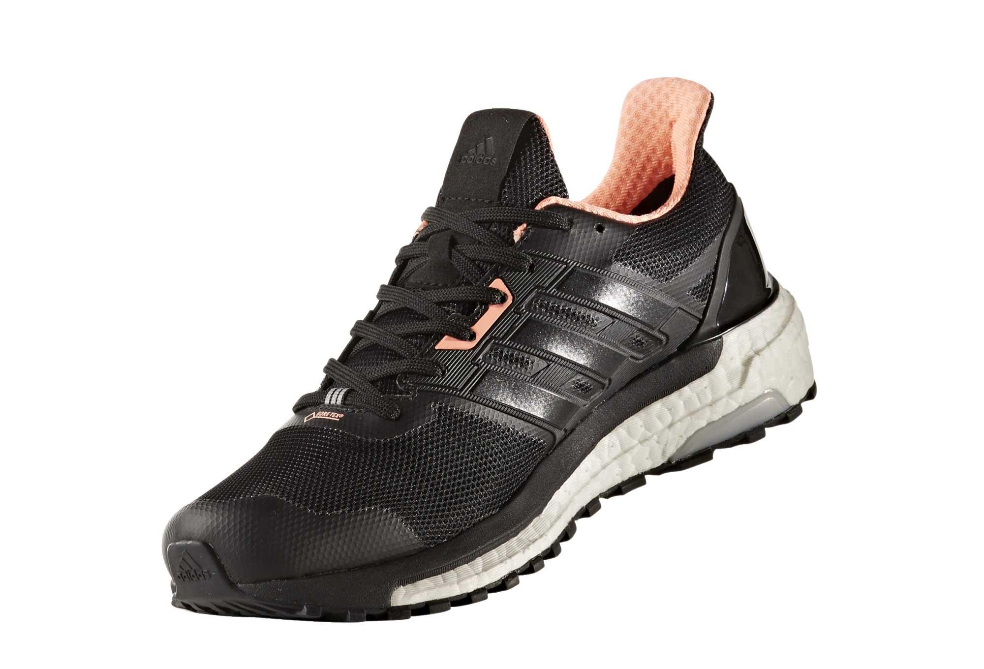 finest selection af835 cc053 adidas running Supernova Gore-Tex Black Neon Orange Women   Alltricks.com