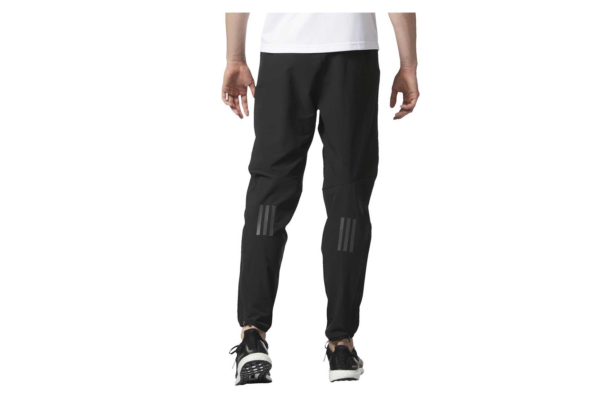 Pantalon Coupe vent Response Running Noir Homme Adidas
