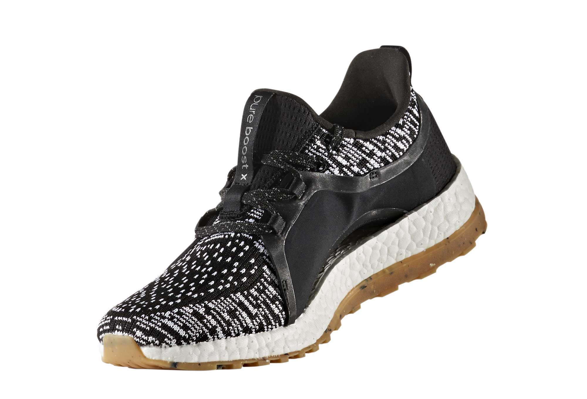 a5d5bf324 adidas running Pureboost X All Terrain Black White Women