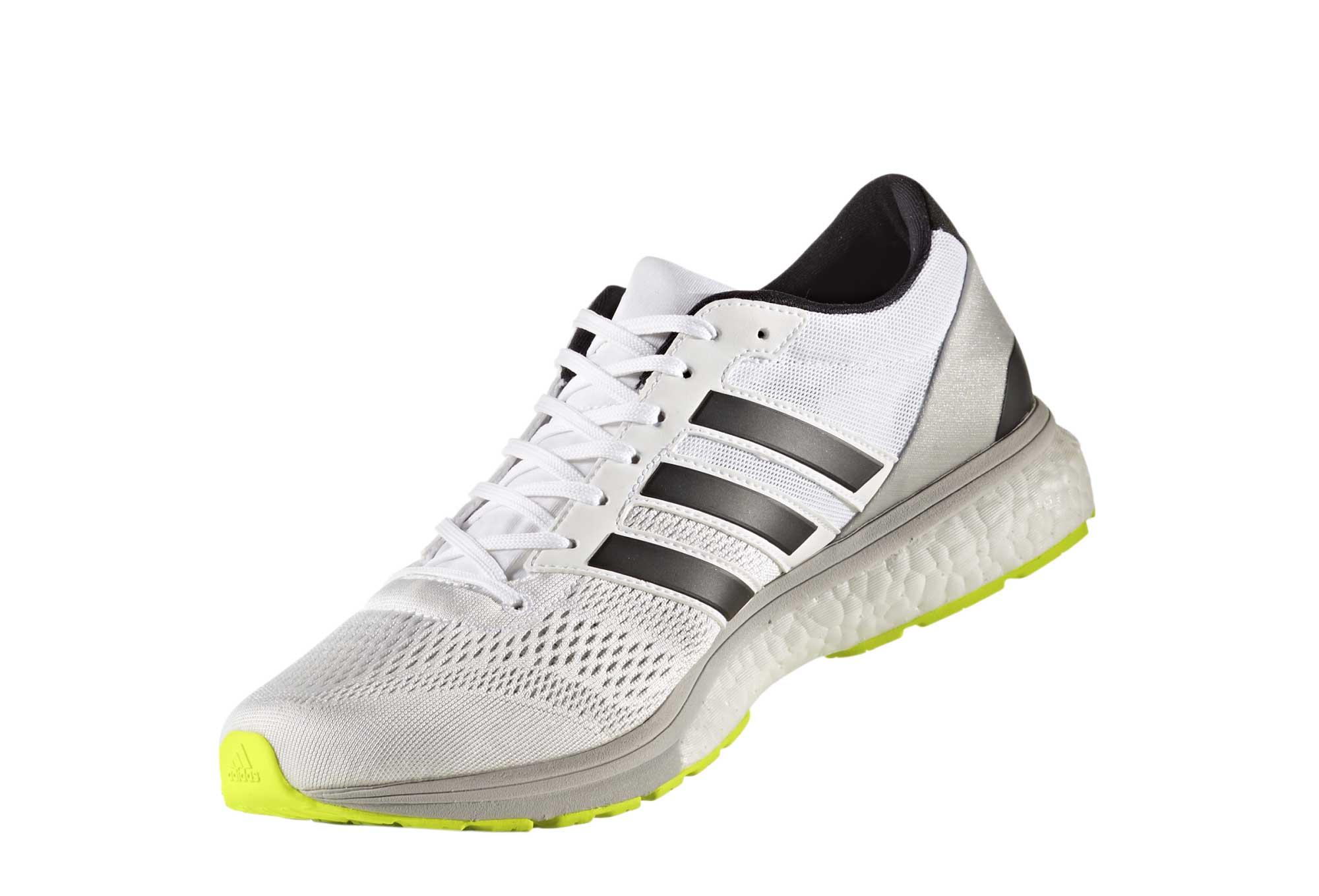 456161f1bb8 Chaussures de Running adidas running Adizero Boston 6 Blanc   Gris ...