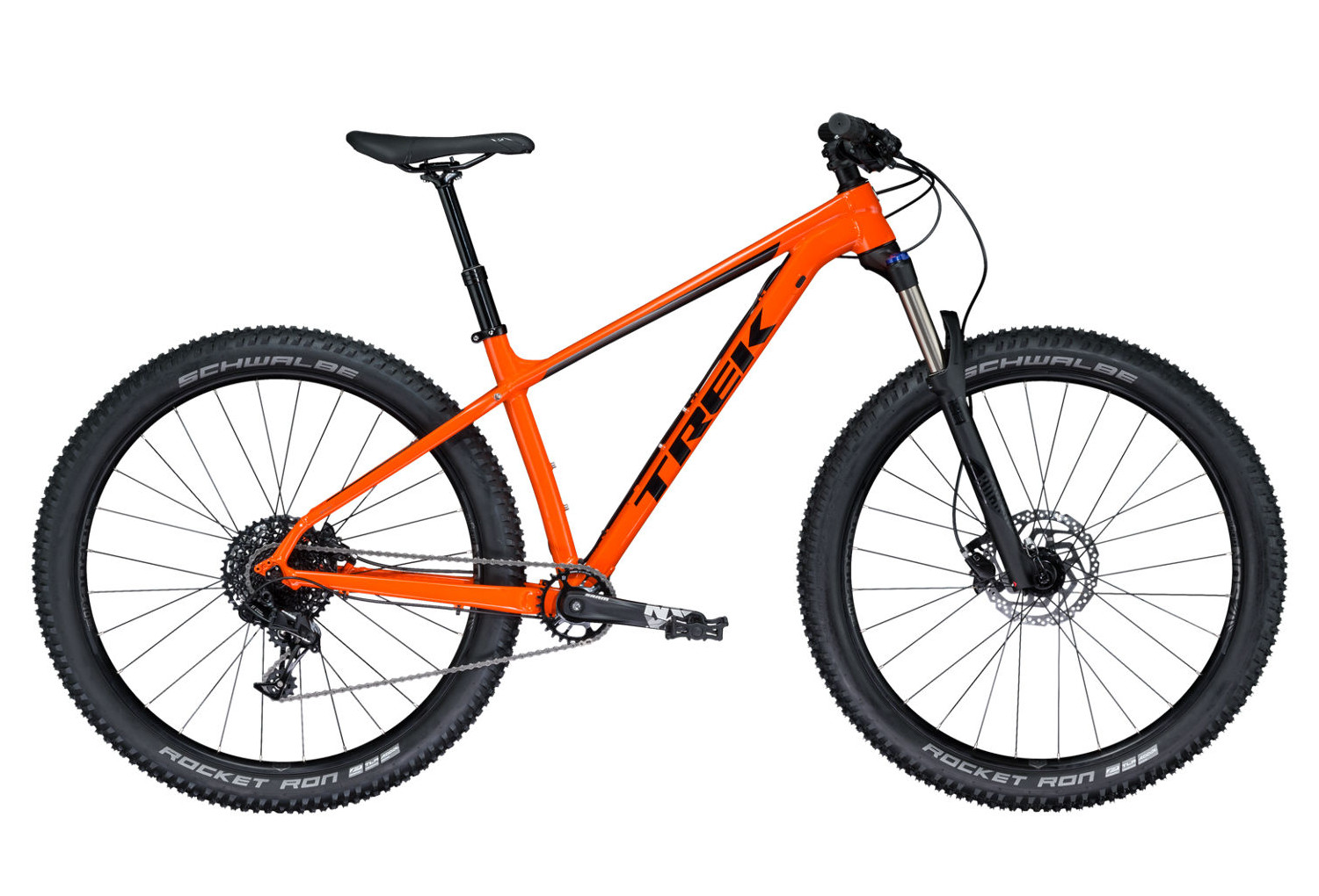 hardtail mtb trek 2018 roscoe 8 27 5 sram nx 11s orange
