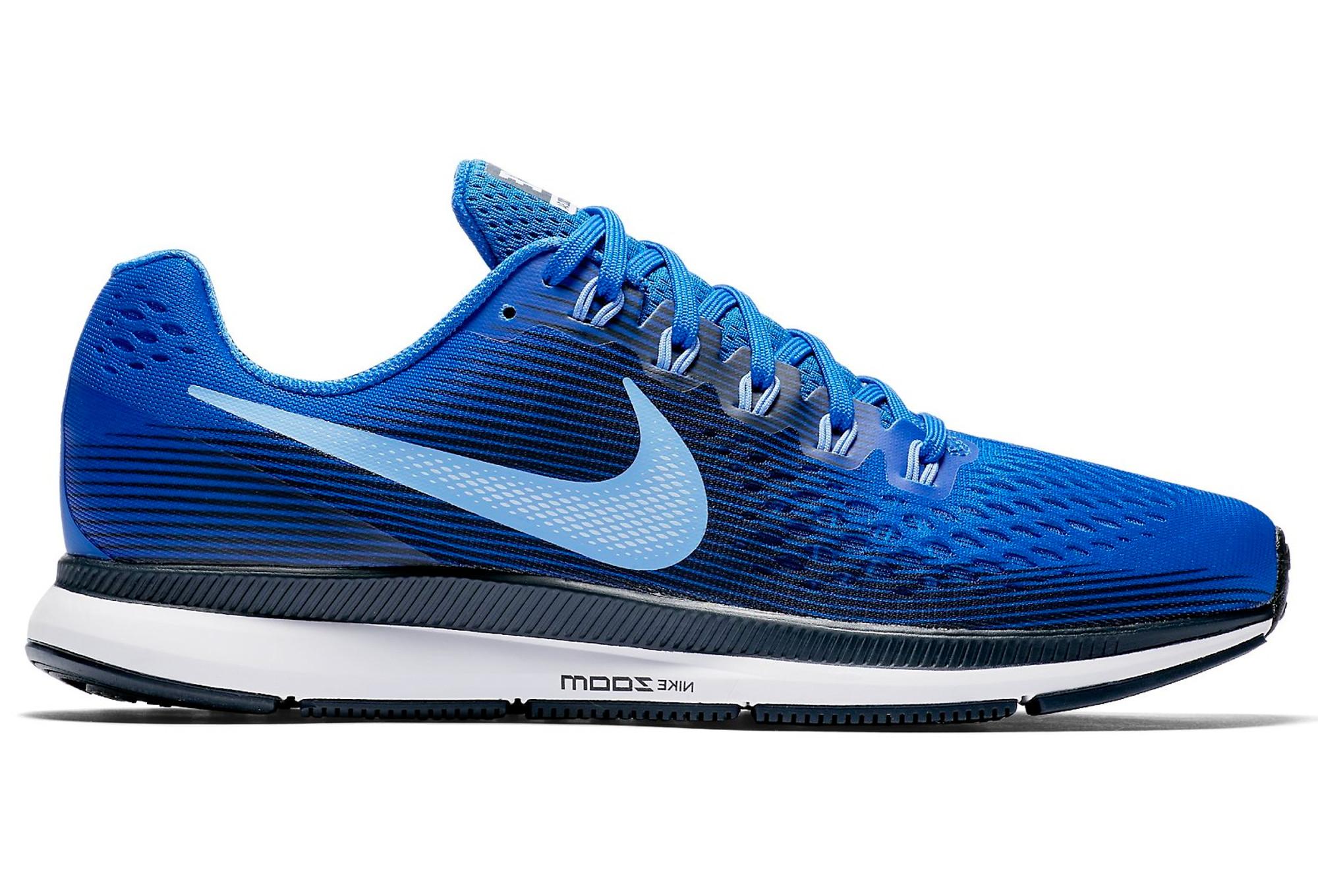 pretty nice c173a 16ac9 Chaussures de Running Nike Air Zoom Pegasus 34 Bleu   Blanc