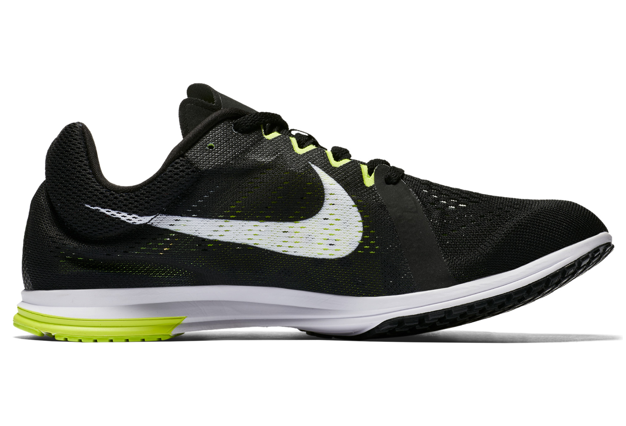 Nike Zoom Streak LT 3 Negro Blanco Amarillo Unisex