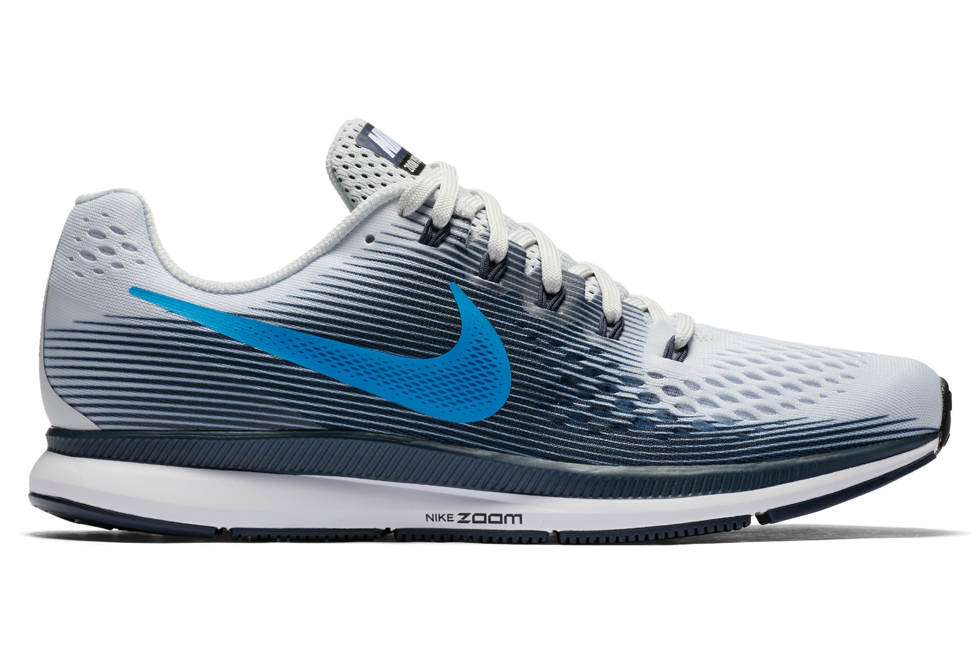 hot sale online d7205 1d21a Zapatillas Nike Air Zoom Pegasus 34 para Hombre Blanco   Azul