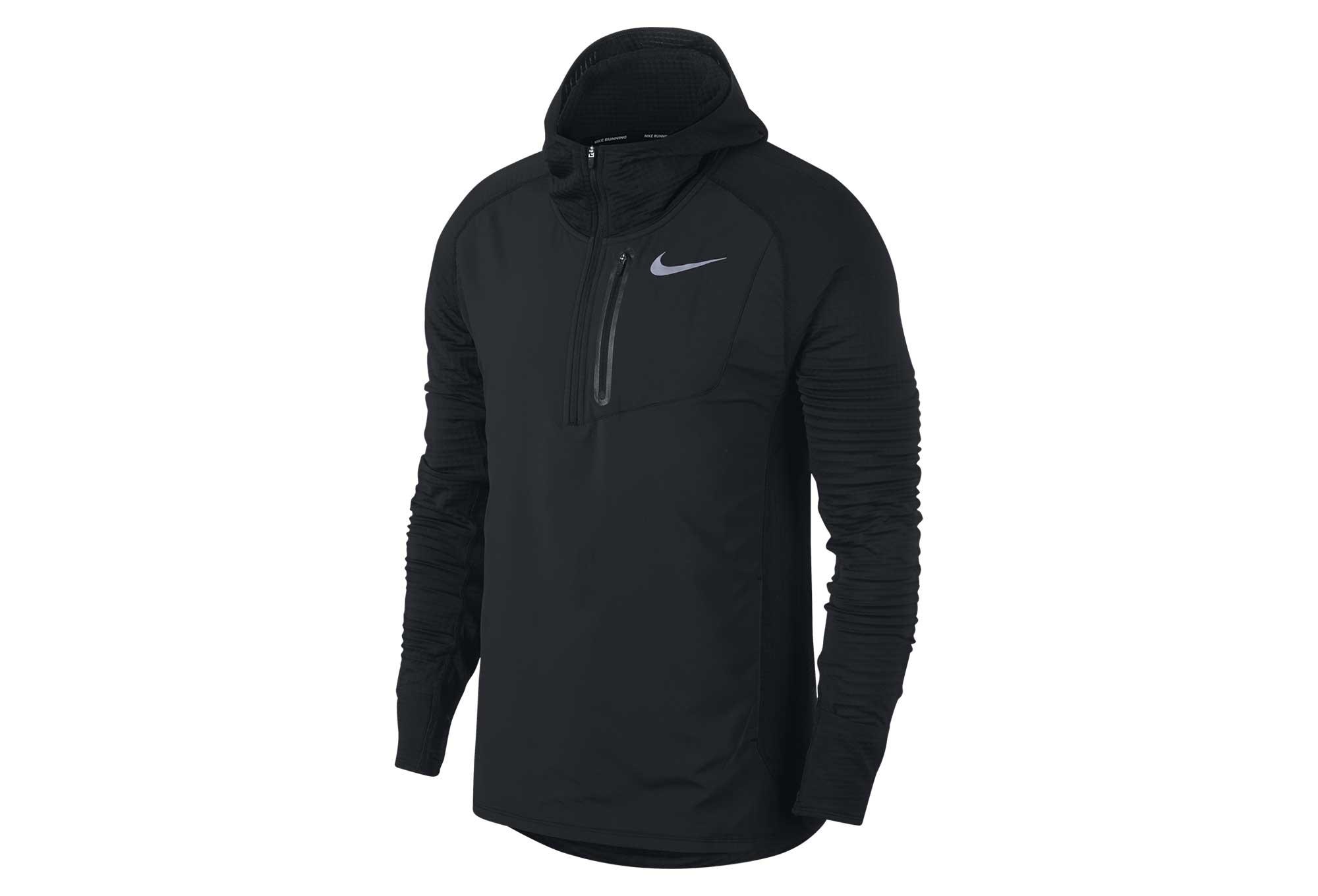 d19d171f39095 Sweat à Capuche Nike Therma Sphere Element Hybrid Noir Homme ...