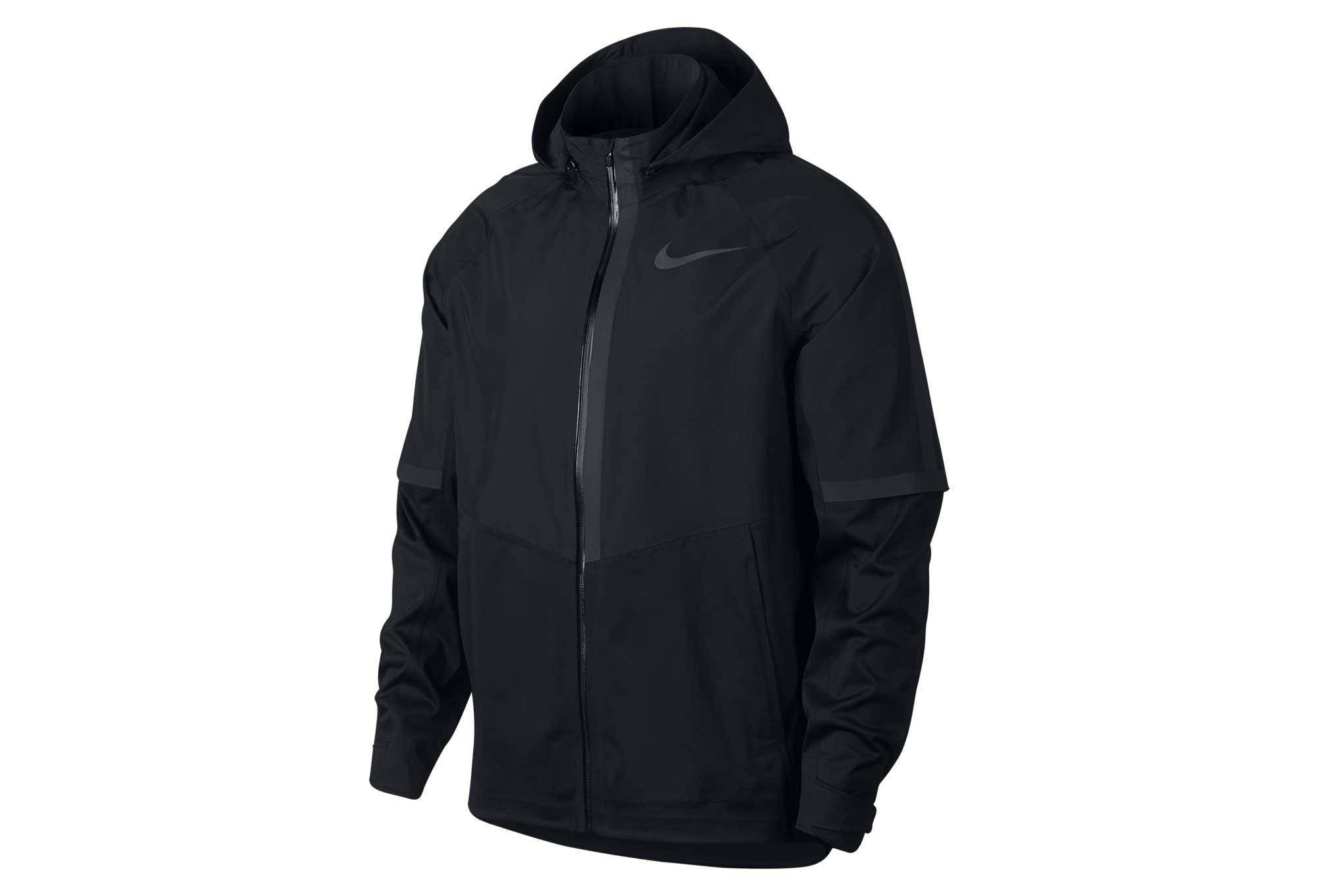 6ecda25390a6 Veste Imperméable Nike AeroShield Noir Homme