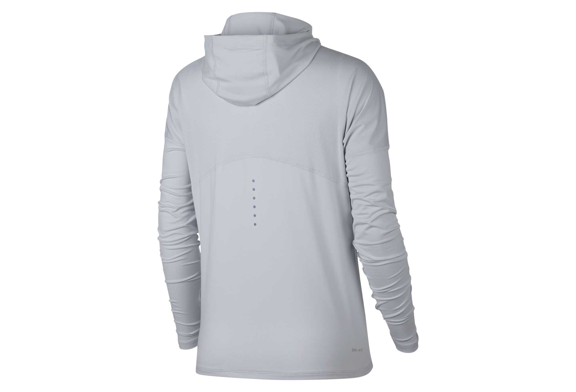 pretty cool cozy fresh buy online Sweat à Capuche Nike Dry Element Gris Femme