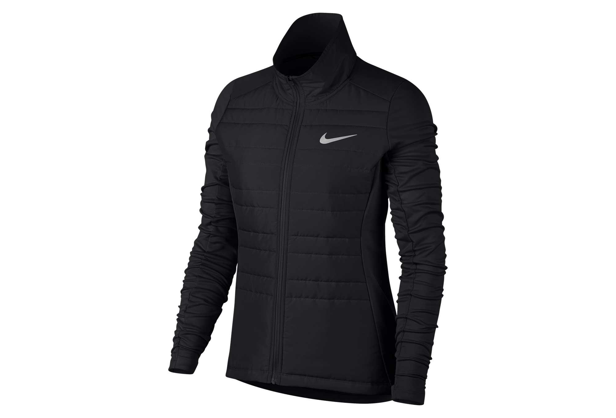 Femme Essential Nike Noir Filled Veste 5CwIzqv