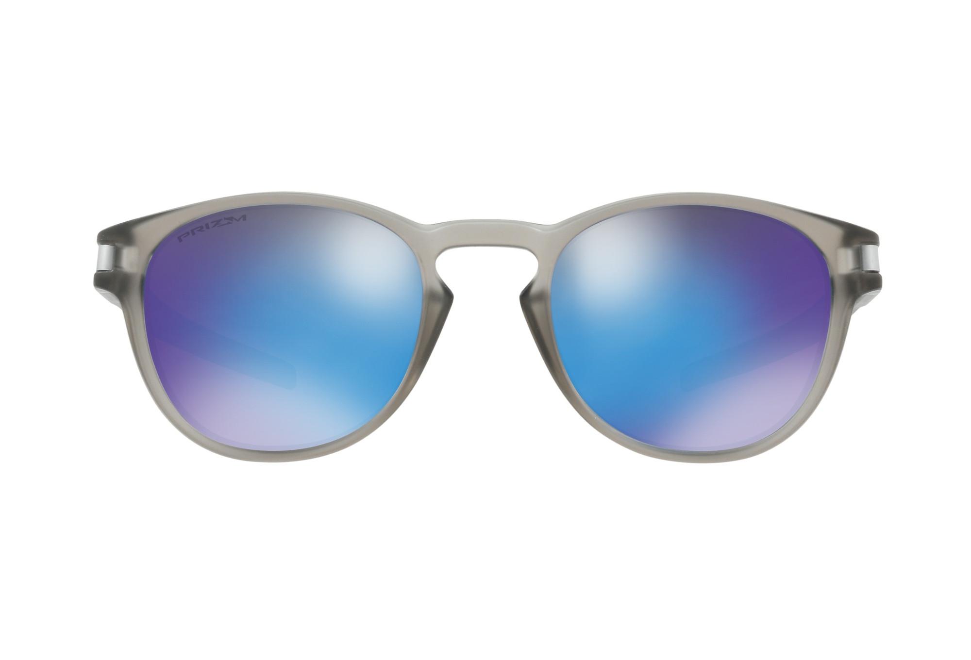 oakley latch sonnenbrille klar blau prizm polarisiert ref oo9265 3253. Black Bedroom Furniture Sets. Home Design Ideas