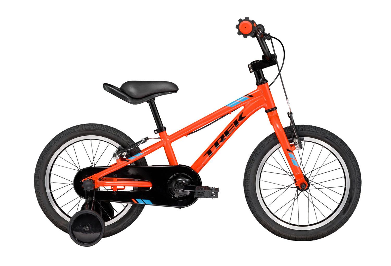 Vélo Enfant Enfant Trek Precaliber 16 16   Noir   Orange 4 à 6 ans ... dbf0fae9d3fe