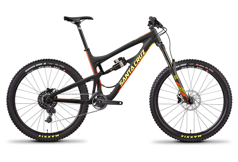 Bicicleta de doble suspensión Santa Cruz Nomad 3.0 C Carbono 27.5 ...