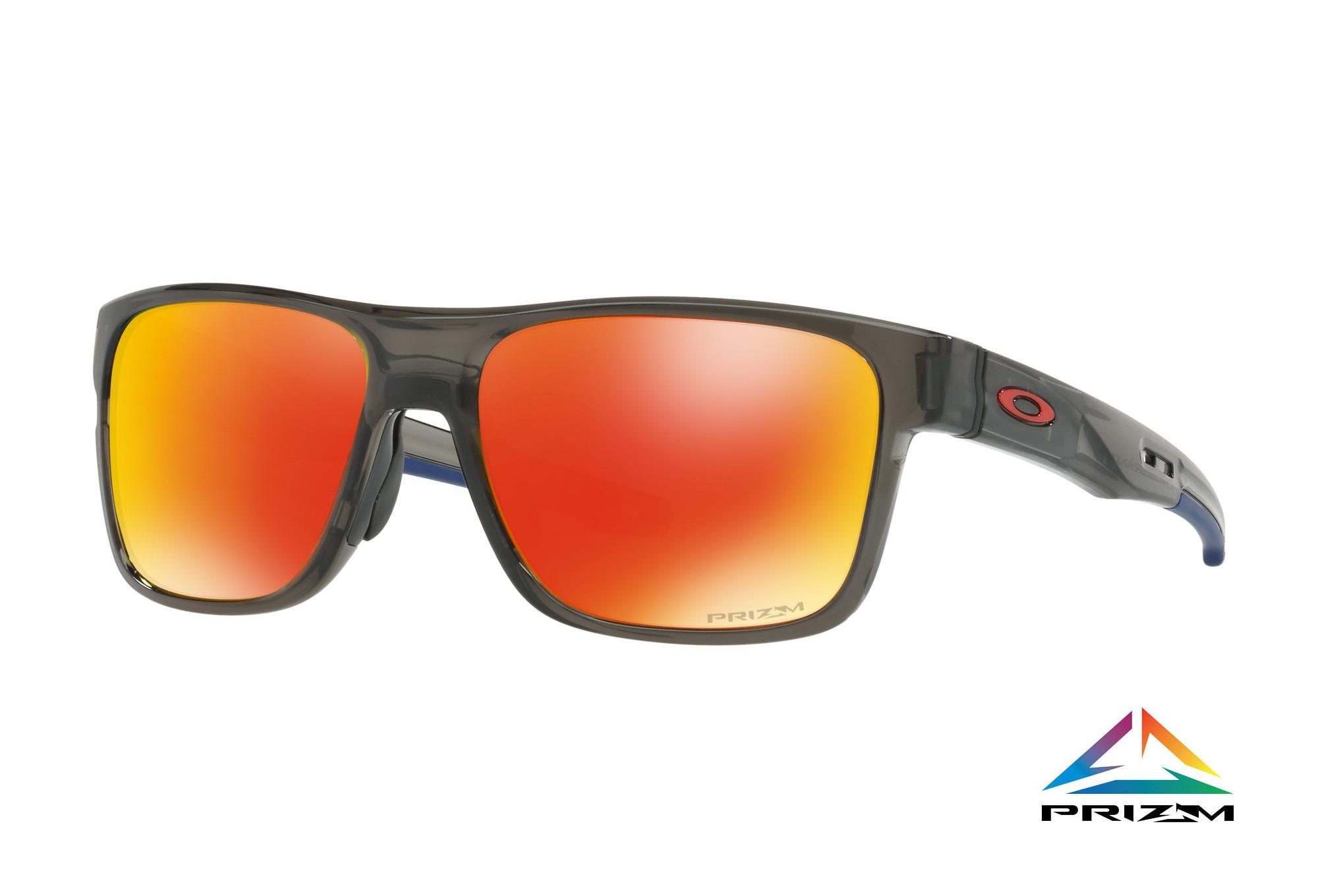 41fb940548 OAKLEY Sunglasses Crossrange Gray Smoke - Prizm Ruby Ref OO9361-1257 ...