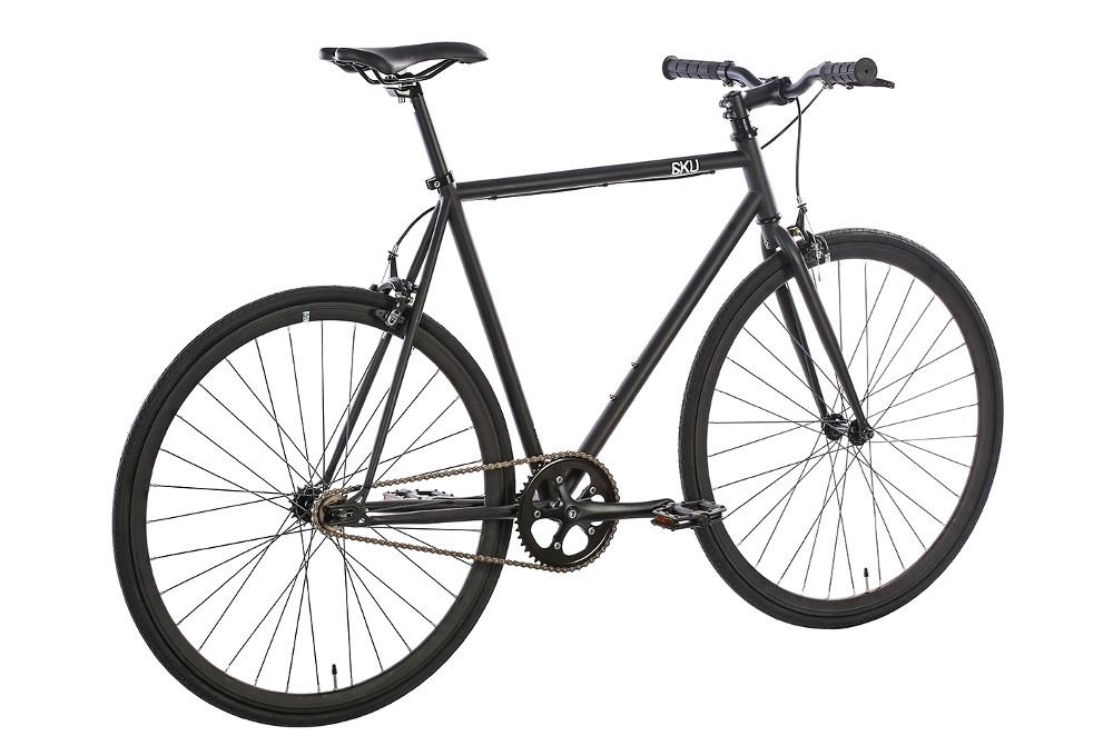 6ku nebula 1 fixie bike black. Black Bedroom Furniture Sets. Home Design Ideas