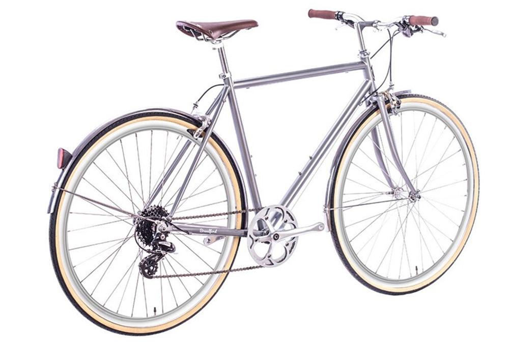 6ku odyssey city fahrrad shimano altus 8s brandford silber. Black Bedroom Furniture Sets. Home Design Ideas