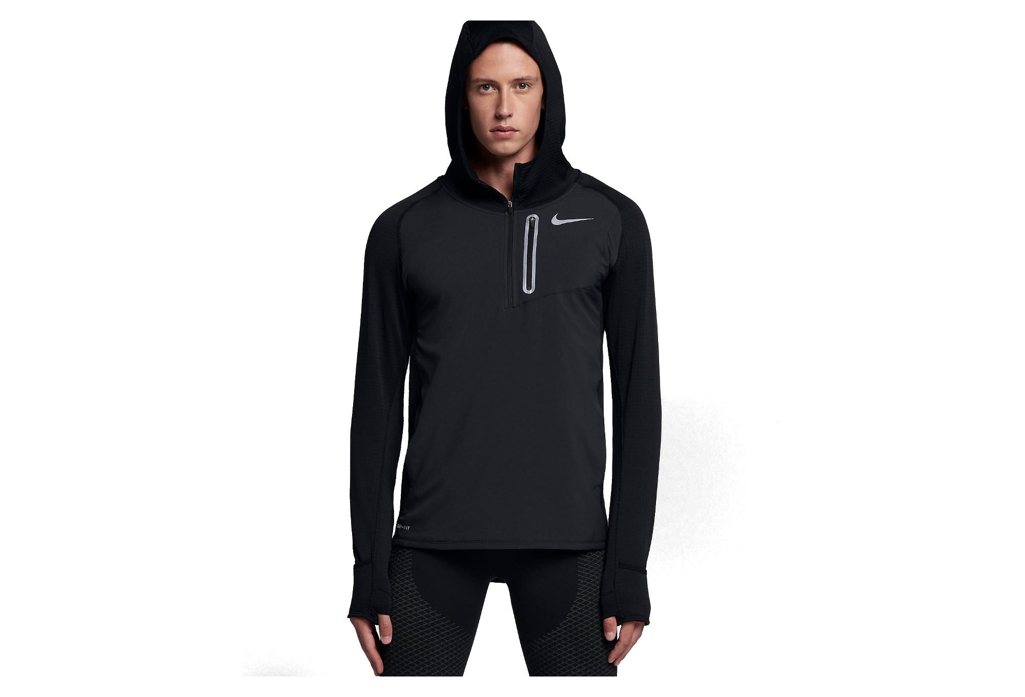 Sweat à Capuche Nike Therma Sphere Element Hybrid Noir Homme
